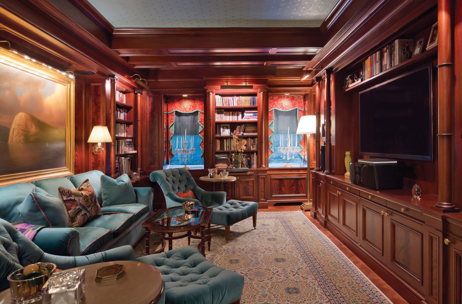 New York City high-end custom architectural millwork firm