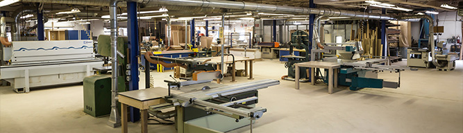 reliable custom woodworking facility